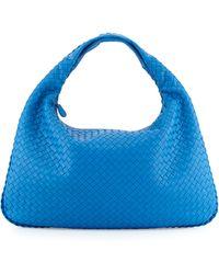 Bottega Veneta Intrecciato Large Hobo Bag - Lyst