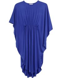 H&M Jersey Tunic blue - Lyst