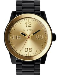Nixon | Corporal Stainless Steel Watch | Lyst