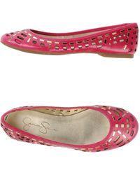 Jessica Simpson Ballet Flats - Lyst