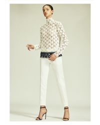 Yigal Azrouël | Hibiscus Lace Blouse | Lyst