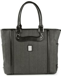 Diesel Zip Dream Wave Herringbone Tote - Lyst