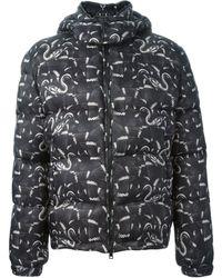 Marcelo Burlon County Of Milan Snake Print Jacket - Lyst