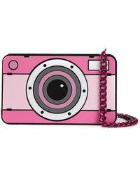 Yazbukey - Camera Patent-Leather Shoulder Bag - Lyst