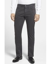 Burberry Brit | Straight Leg Five Pocket Trousers | Lyst