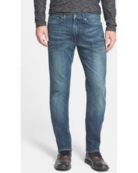 Lucky Brand '121 Heritage' Slim Straight Leg Jeans - Lyst