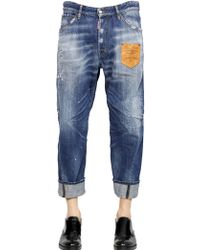 DSquared² 20Cm Workwear Patch Classic Denim Jeans - Lyst