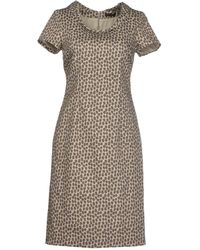 Peserico Short Dress - Lyst