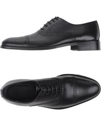 Rochas   black Lace-up Shoes   Lyst