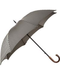 Barneys New York Herringbone Stripe Stick Umbrella - Lyst