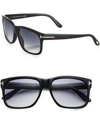 Tom Ford 58mm Square Sunglasses - Lyst