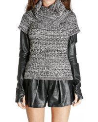 Blank Sweater - Lyst