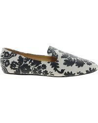 Elizabeth And James Elizabeth James Tommi Brocade Flat Shoe - Lyst