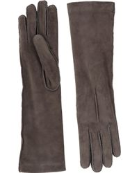 Barneys New York Cashmere-Lined Long Gloves - Lyst