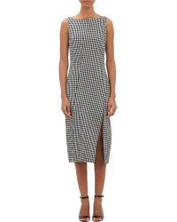 Altuzarra Gingham Seersucker Nerissa Dress - Lyst