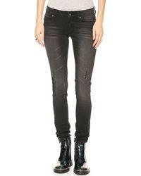 Cheap Monday Slim Throw Back Jeans - Lyst