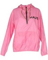 Haus By Golden Goose Deluxe Brand Jacket pink - Lyst
