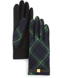 Pink Pony - Lauren Tartan Tech Gloves - Lyst
