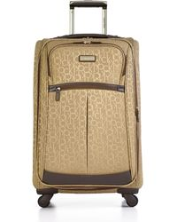 """Calvin Klein Nolita 2.0 24"""" Spinner Suitcase brown - Lyst"""