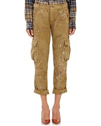 Bliss and Mischief - Paint-splatter Cargo Trousers - Lyst