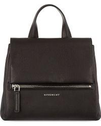 Givenchy Pandora Flap Small Black - Lyst