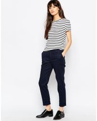 Fred Perry - Classic Chino - Navy - Lyst