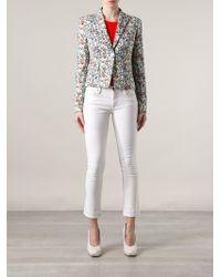 Versace Liberty Floral Jacket - Lyst