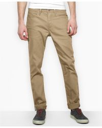 Levi's 511 Slim Fit True Chino Commuter Pants - Lyst
