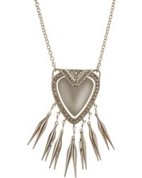 Alexis Bittar - Silver Winter Deco Necklace - Lyst