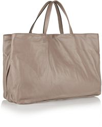 Marni Leather Tote - Lyst