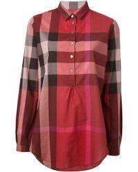 Burberry Brit Nova Check Shirt - Lyst