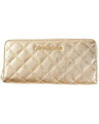 MICHAEL Michael Kors 'Susannah' Quilted Wallet - Lyst