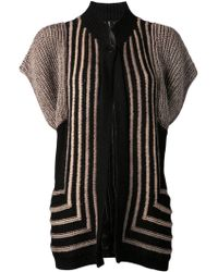 Zero + Maria Cornejo Handknit Waistcoat - Lyst