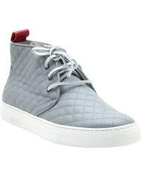 Del Toro Quilted Chukka Trainers - Lyst