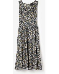 No. 6 Lula Swing Dress Garden Floral - Lyst