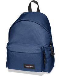 Eastpak Navy Padded Backpack blue - Lyst