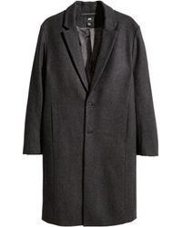 H&M | Coat In A Wool Blend | Lyst