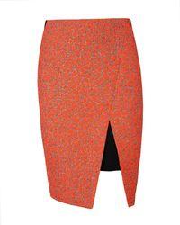 Ted Baker Neon Jacquard Skirt - Lyst