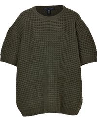 Marc By Marc Jacobs Short Sleeve Popcorn Knit Pullover - Lyst