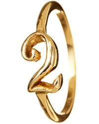 Lulu Frost - Code Number 14Kt #2 Ring - Lyst