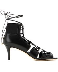 Jimmy Choo Myrtle Leather Sandals - Lyst