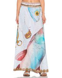 Agua Bendita - Sailor Boat Bendito Compas Skirt - Lyst