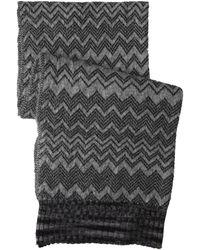 Missoni Gray scarves - Lyst