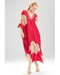 Natori Couture Blossom Caftan - Lyst
