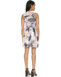Timo Weiland | Chelsea Dress - Blush/Black/White/Navy | Lyst