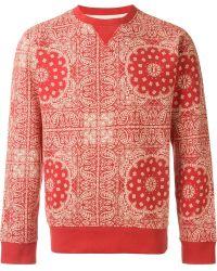Edwin - Bandana Print Sweatshirt - Lyst