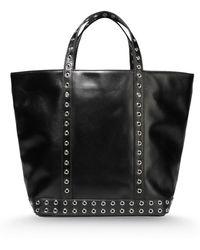Vanessa Bruno Large Leather Bag - Lyst