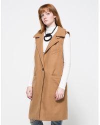Need Supply Co. Fall Line Vest khaki - Lyst