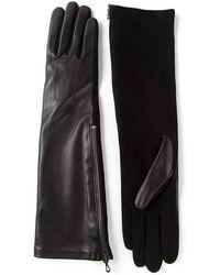 Lanvin Elbow Length Gloves - Lyst