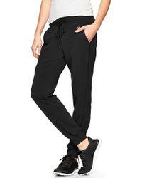 Gap Fit Stripe-Panel Pants - Lyst